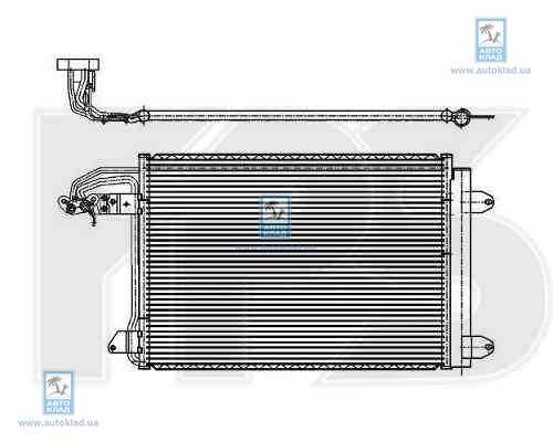 Радиатор кондиционера FPS 74K472X