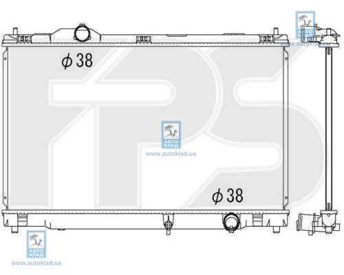 Радиатор охлаждения FPS 81A267X
