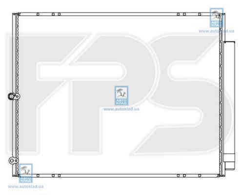 Радиатор кондиционера FPS 81K65X