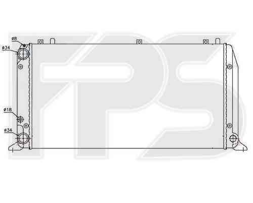 Радиатор охлаждения FPS 12A409P