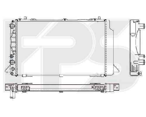 Радиатор охлаждения FPS 12A411