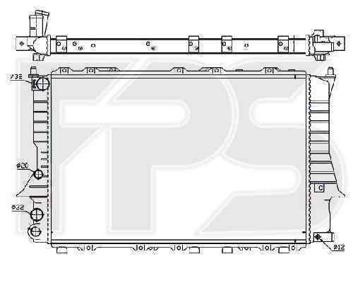 Радиатор охлаждения FPS 12A412