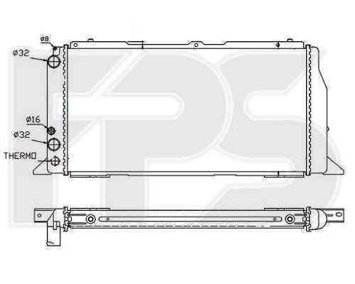 Радиатор охлаждения FPS 12A418