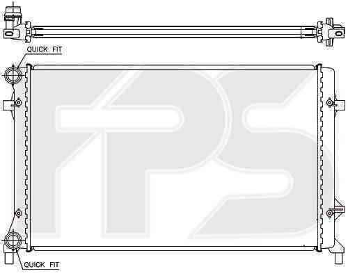 Радиатор охлаждения FPS 12A472P