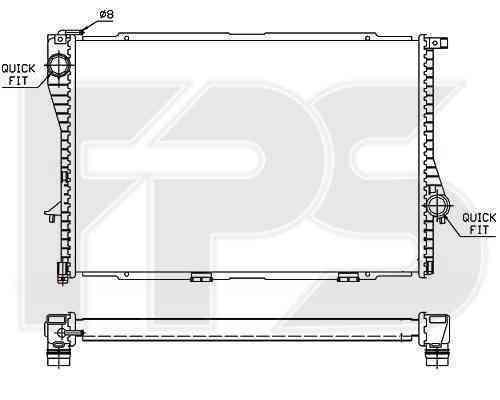Радиатор охлаждения FPS 14A44