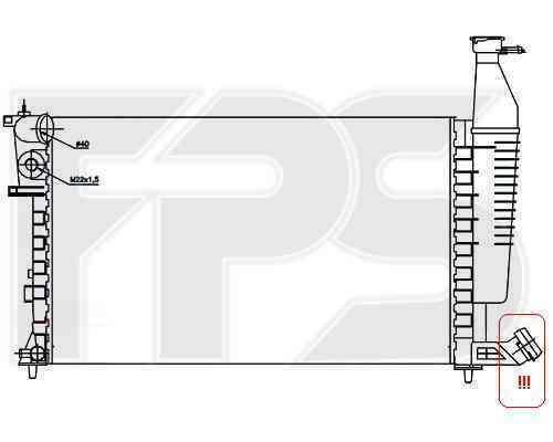 Радиатор охлаждения FPS 20A61