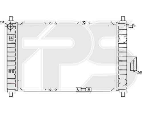 Радиатор охлаждения FPS 22A696