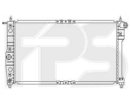 Радиатор охлаждения FPS 22A847P