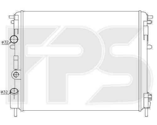 Радиатор охлаждения FPS 27A391