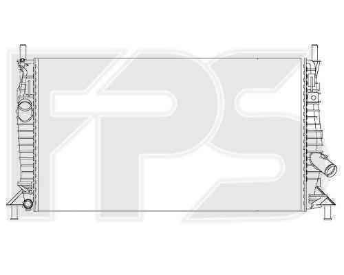 Радиатор охлаждения FPS 44A196
