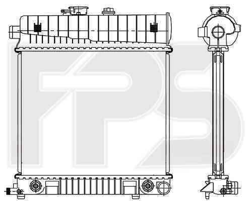 Радиатор охлаждения FPS 46A246