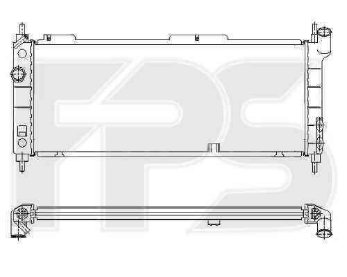 Радиатор охлаждения FPS 52A276