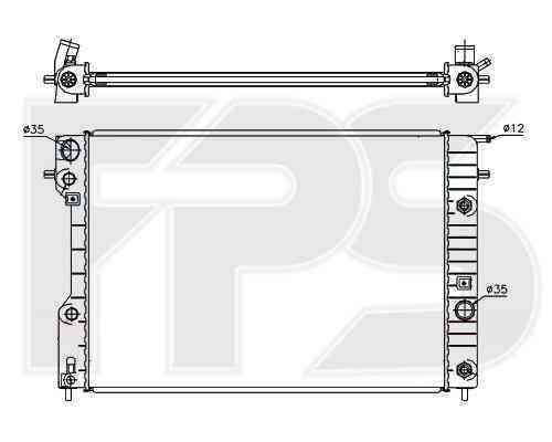 Радиатор охлаждения FPS 52A318P