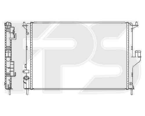 Радиатор охлаждения FPS 56A137