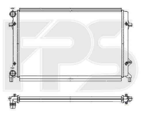 Радиатор охлаждения FPS 64A473P