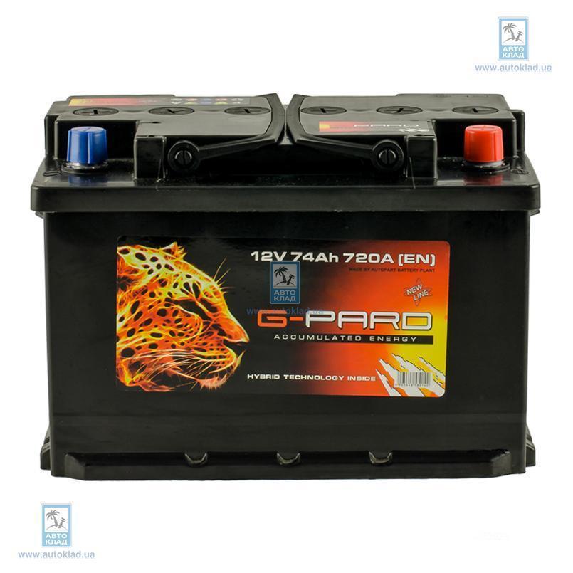 Аккумулятор 74Ач G-PARD TRC07400