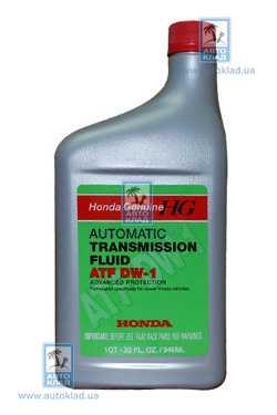 Масло трансмиссионное ATF Z1 DW-1 0.95л HONDA 08200-9008: стоимость