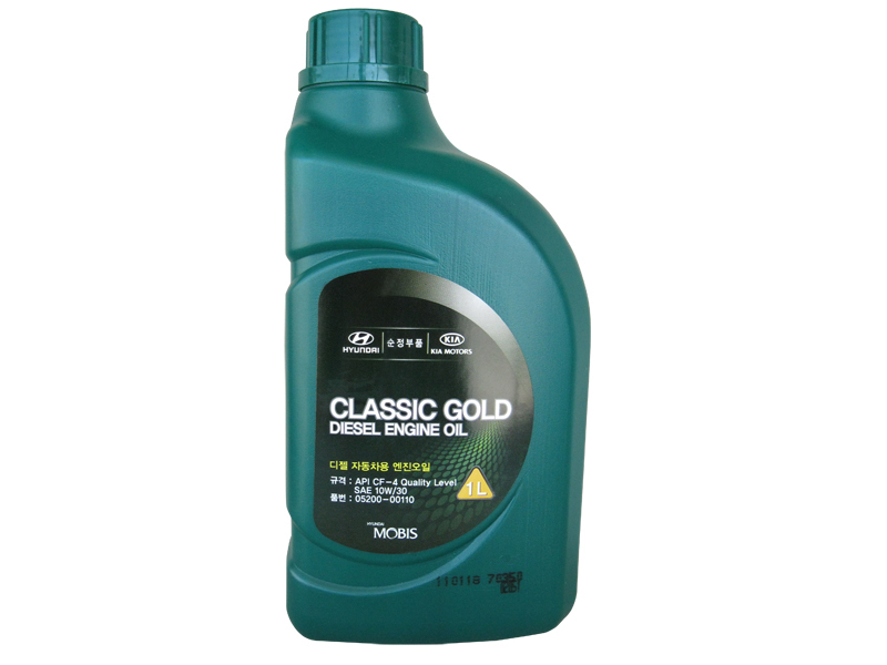 Масло моторное 10W-30 Classic Gold Diesel 1л HYUNDAI/KIA 0520000110