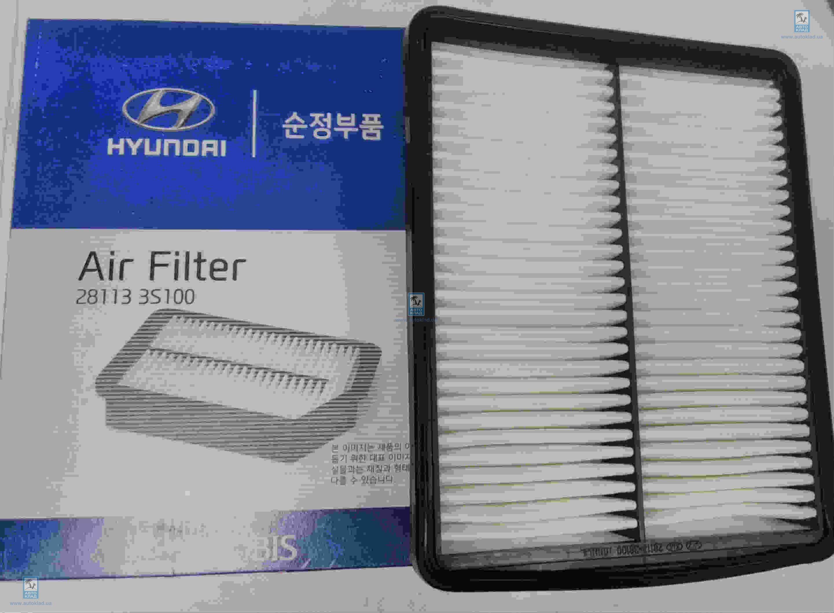 Фильтр воздушный HYUNDAI/KIA 28113-3S100