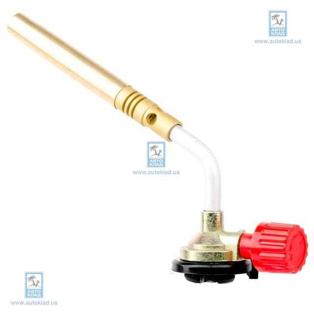 Горелка газовая с регулятором, сопло D=10мм INTERTOOL GB0024