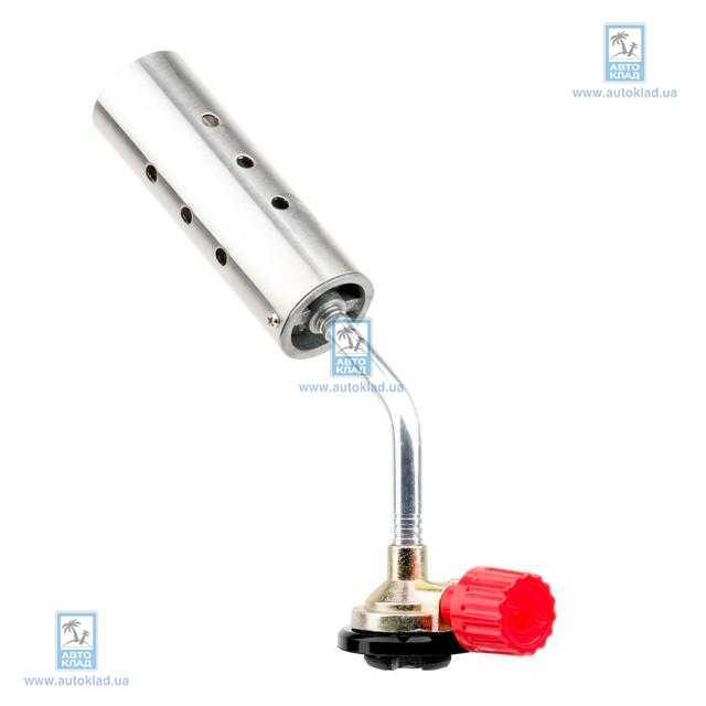 Горелка газовая с регулятором, сопло D=30мм INTERTOOL GB0025
