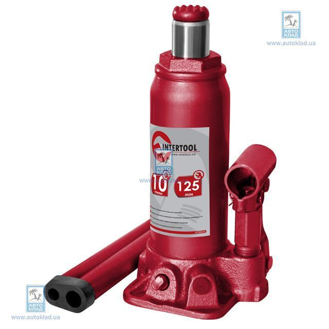 Домкрат одноштоковый 12т INTERTOOL GT0026