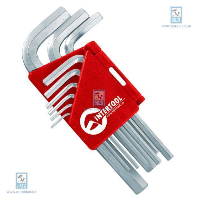 Набор Г-образных шестигранных ключей INTERTOOL HT0601