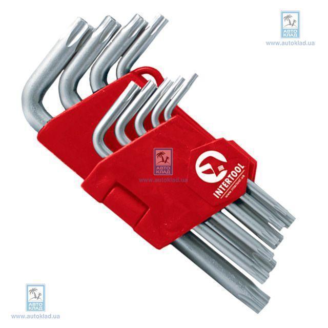 Набор Г-образных ключей Torx INTERTOOL HT0604