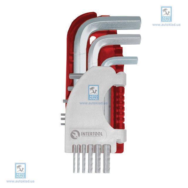 Набор Г-образных шестигранных ключей INTERTOOL HT1803
