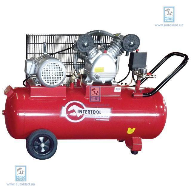 Компрессор 100л 4hp 3кВт INTERTOOL PT0013