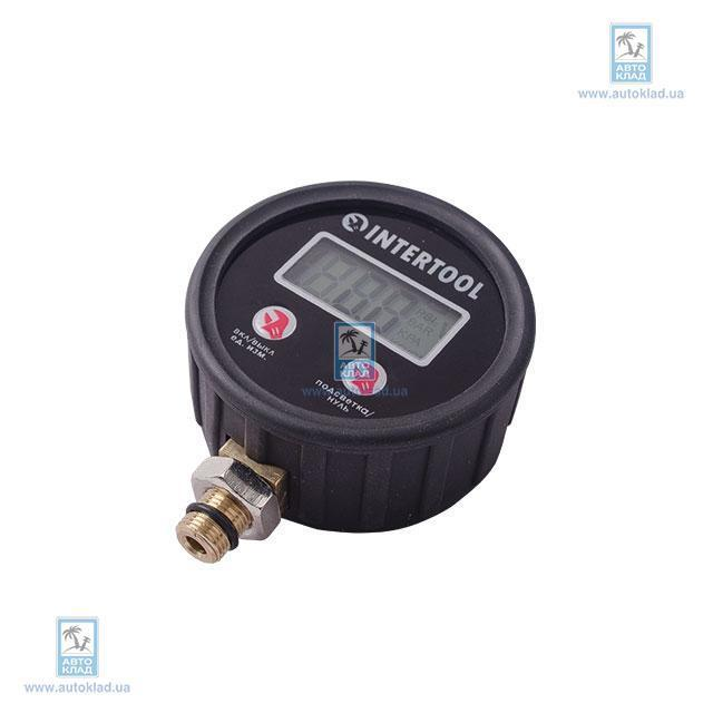 Цифровой манометр к пистолету для подкачки INTERTOOL PT0501
