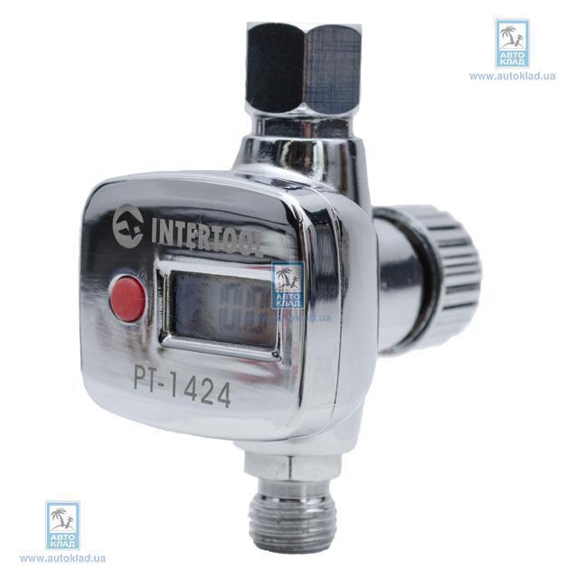 Регулятор давления с цифровым манометром INTERTOOL PT1424