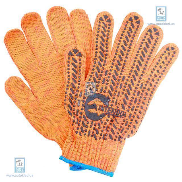 Перчатка хлопчатобумажная INTERTOOL SP0135