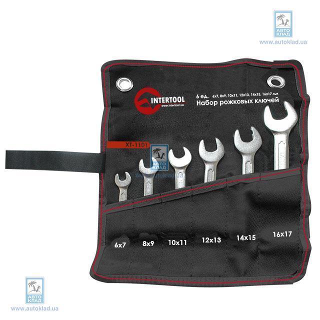Набор рожковых ключей INTERTOOL XT1101