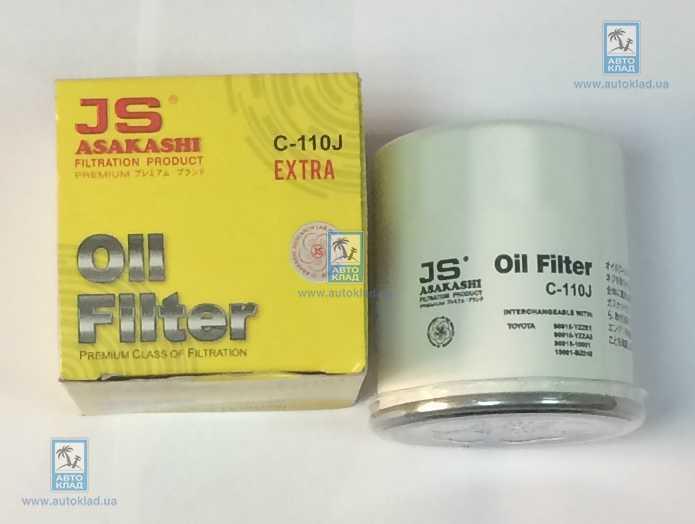 Фильтр масляный JS ASAKASHI C110J: продажа