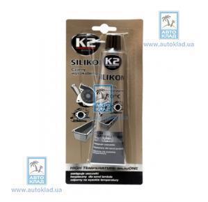 Герметик силиконовый черный 85г K2 B210