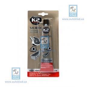 Герметик силиконовый красный 85г K2 B240: купить