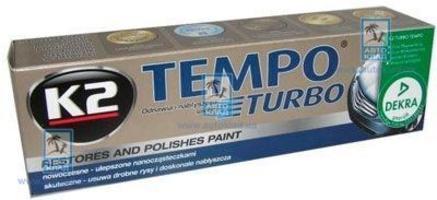 Полироль для кузова восковый Tempo 120г K2 EK001: купить