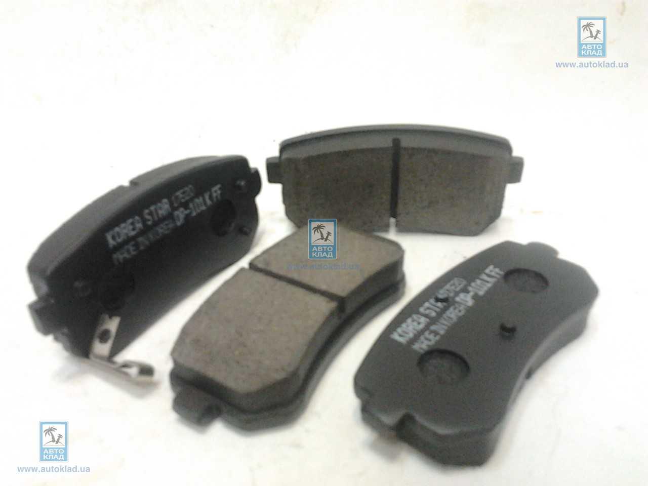 Колодки тормозные задние KOREASTAR KBPH079