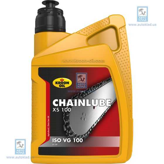 Масло для цепных пил Chainlube XS 100 1л KROON OIL 02212