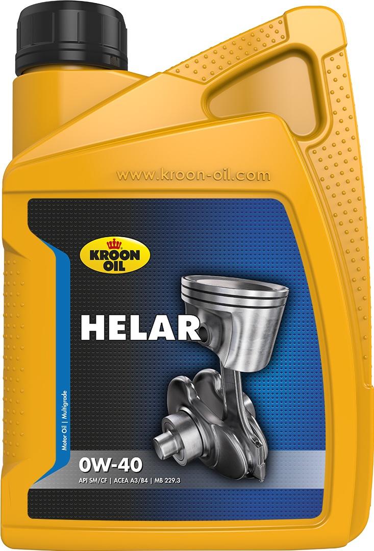 Масло моторное 0W-40 Helar 1л KROON OIL 02226