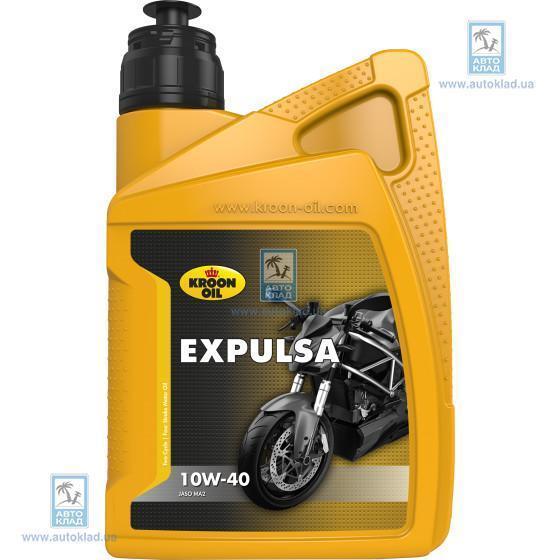 Масло для 4T двигателей 10W-40 4Т EXPULSA 1л KROON OIL 02227