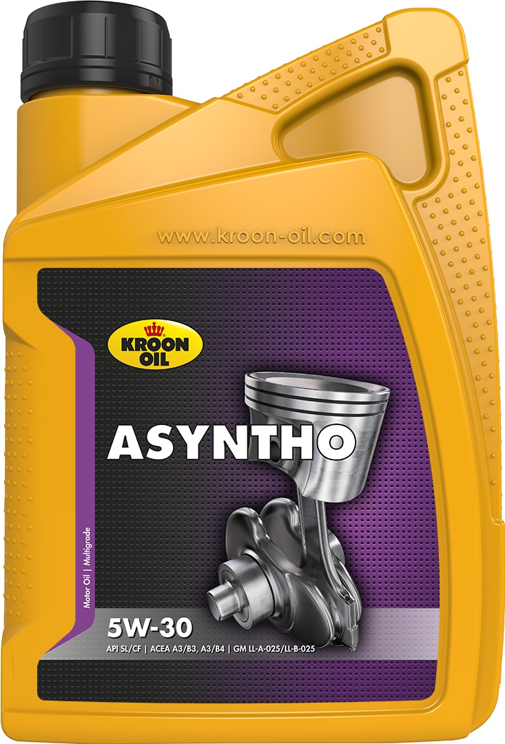 Масло моторное 5W-30 ASyntho 1л KROON OIL 31070