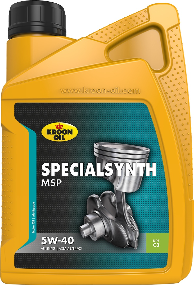 Масло моторное 5W-40 SpecialSynth MSP 1л KROON OIL 31257