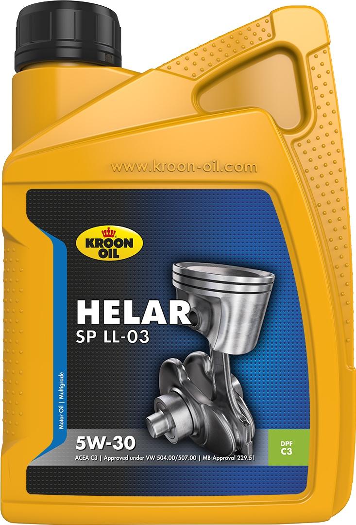 Масло моторное 5W-30 Helar SP 1л KROON OIL 33094