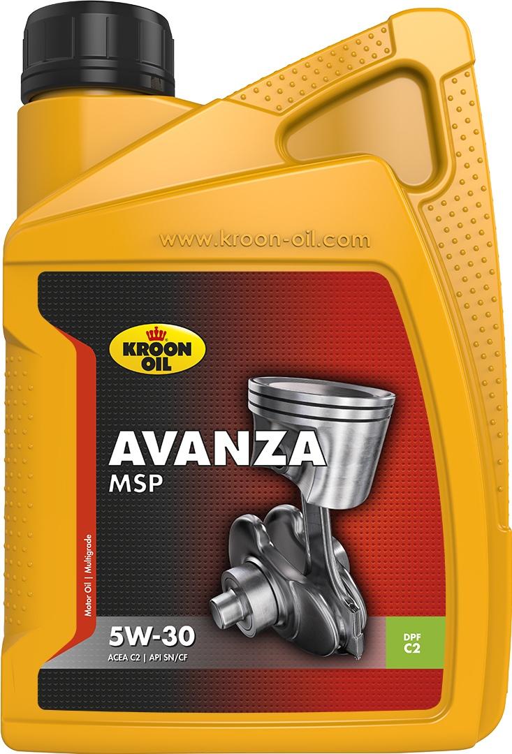 Масло моторное 5W-30 Avanza MSP 1л KROON OIL 33483: продажа