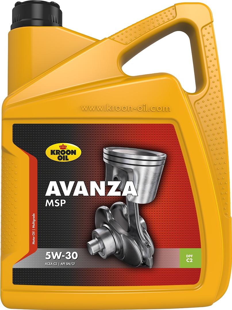 Масло моторное 5W-30 Avanza MSP 5л KROON OIL 33496: заказать