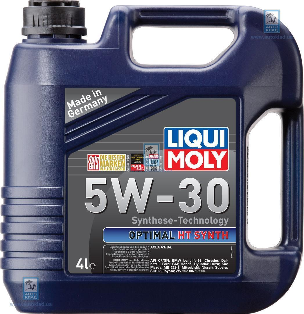 Масло моторное 5W-30 Optimal HT Synth 4л LIQUI MOLY 39001: описание