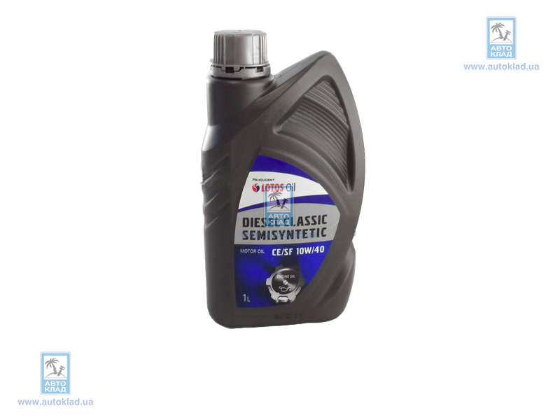 Масло моторное 10W-40 Diesel Classic SemiSynthetic 1л LOTOS LOTDISCLASEM10W40L1