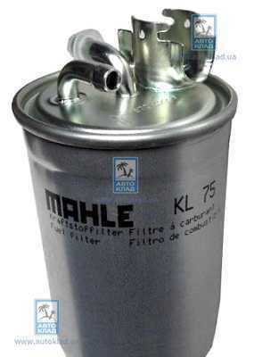 Фильтр топливный MAHLE KL 75